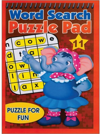 WORD SEARCH PUZZLE PAD-11