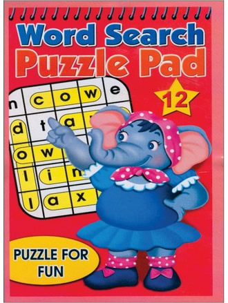 WORD SEARCH PUZZLE PAD-12