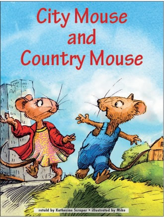 CITY MOUSE AND COUNTRY MOUSE