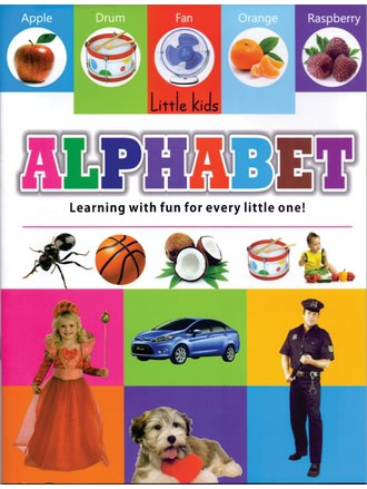 LITTLE KIDS BOOK ALPHABET