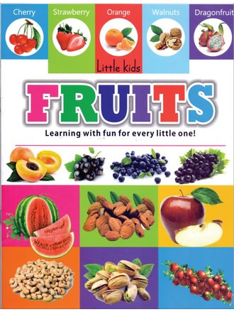 LITTLE KIDS BOOK FRUITS