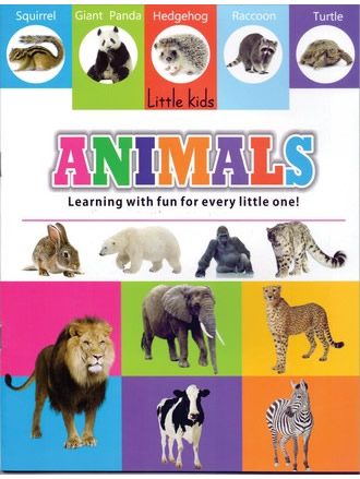 LITTLE KIDS BOOK ANIMALS