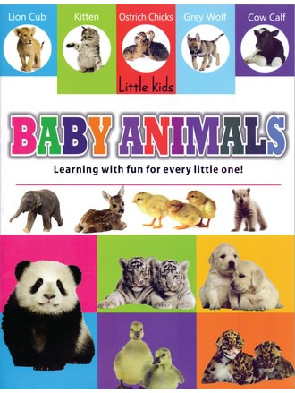 LITTLE KIDS BOOK BABY ANIMALS
