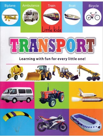 LITTLE KIDS BOOK TRANSPORT
