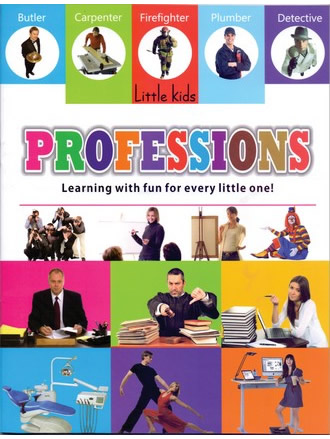 LITTLE KIDS BOOK PROFESSIONS