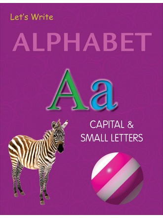 LET'S WRITE ALPHABET CAPITAL & SMALL