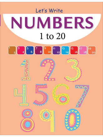 LET'S WRITE NUMBERS 1-20