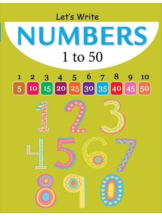 LET'S WRITE NUMBERS 1-50