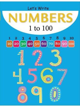 LET'S WRITE NUMBERS 1-100